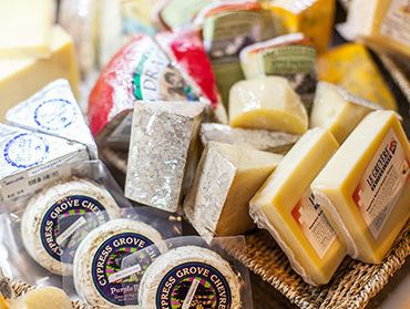 image of cheeses