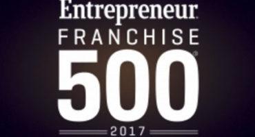 Entrepreneur Franchise 500 logo