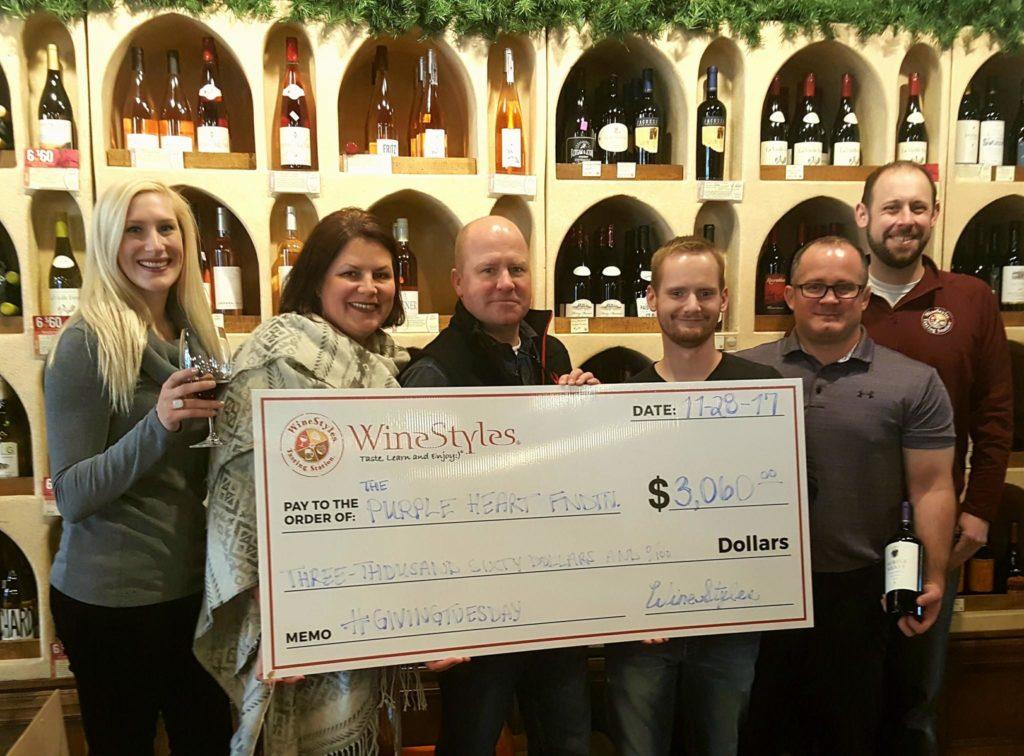 Oversized $3000 check donation