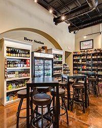 beer tasting station image