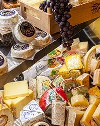 cheese display case