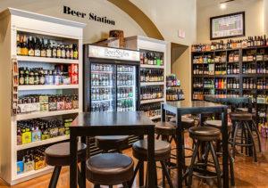 image of beer station