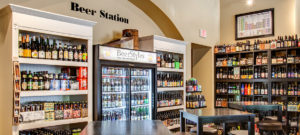 image of the beer station